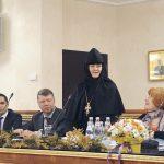 Директор гостиницы игумения Феофания