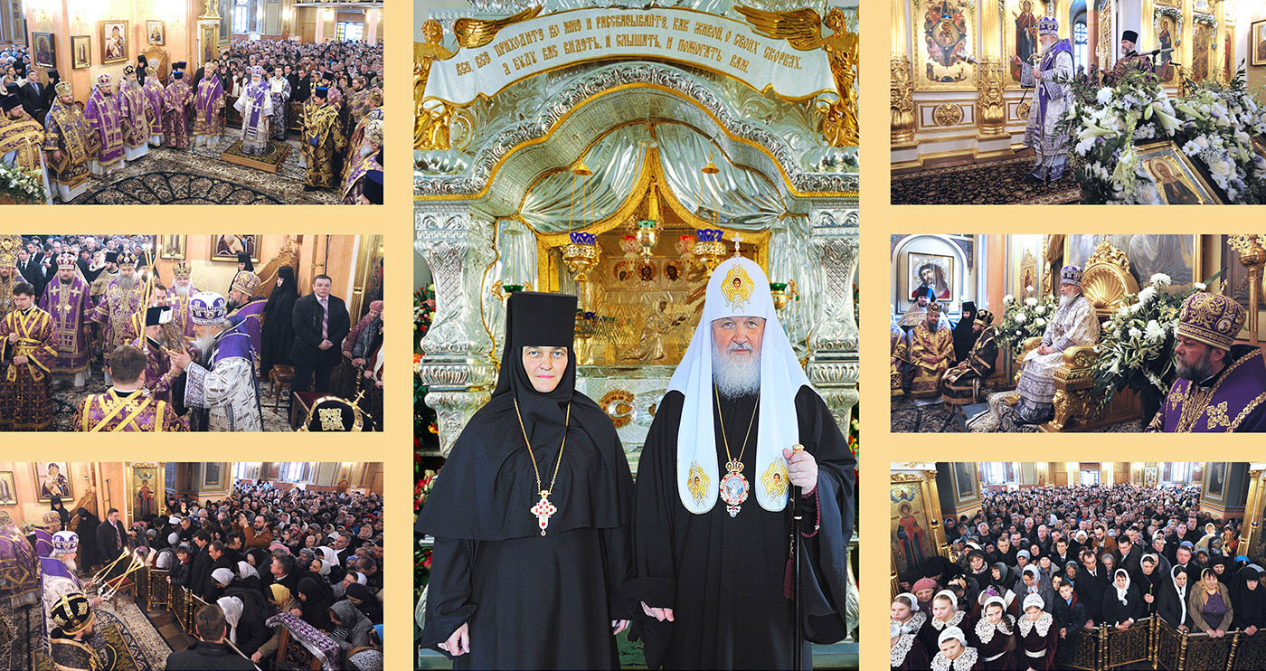 Where are the relics of Matrona