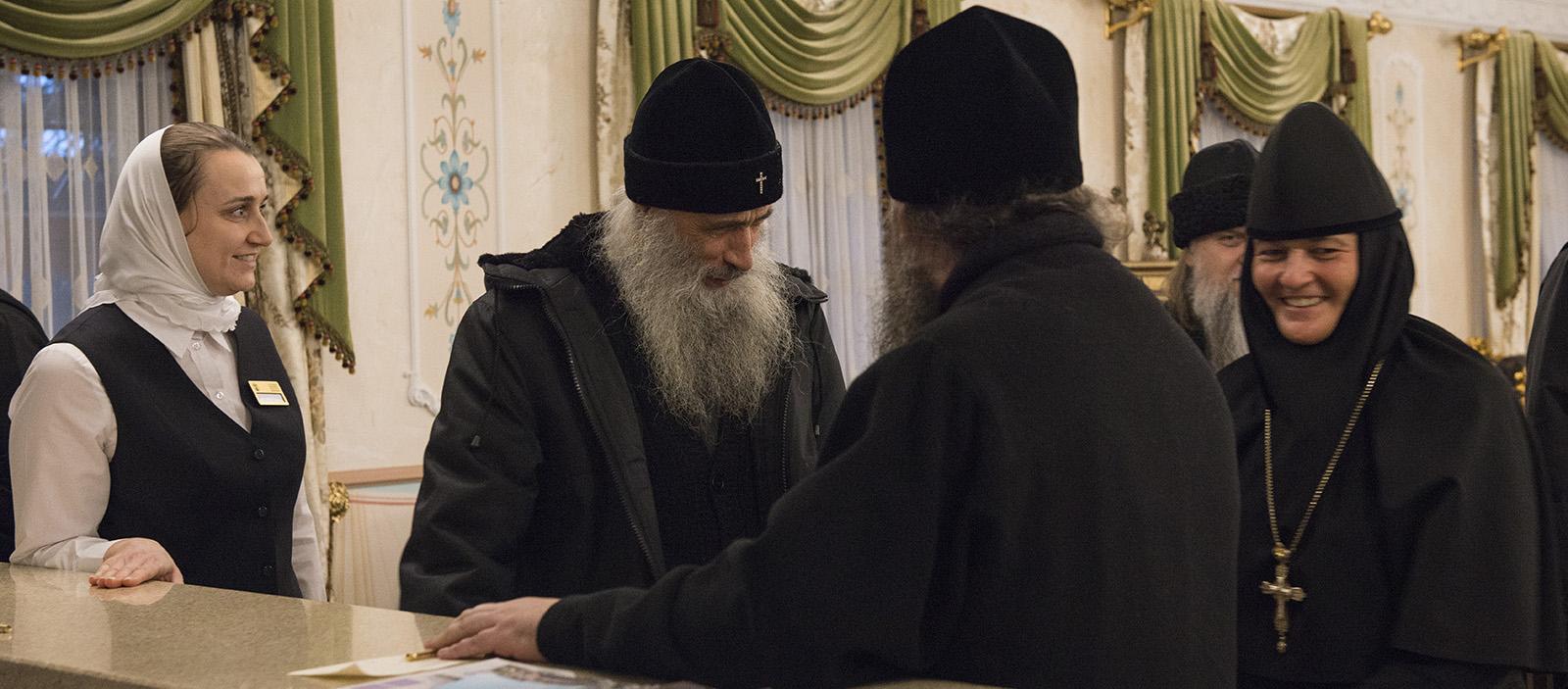 Patriarch Kirill visited the Pokrovsky new building 25