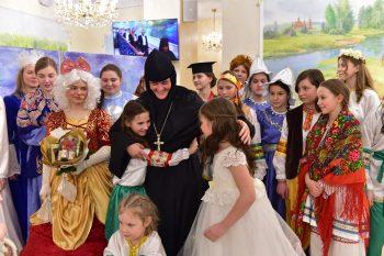 Празднование Рождества Христова в гостинице Покровская