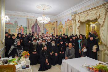 Визит делегации игуменов, игумений и насельниц монастырей Коптской Церкви в Россию