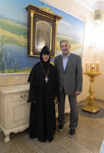 Гостиницу посетил президент Федерации хоккея России Владислав Александрович Третьяк